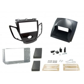 Kit double din Ford Fiesta (piano black)