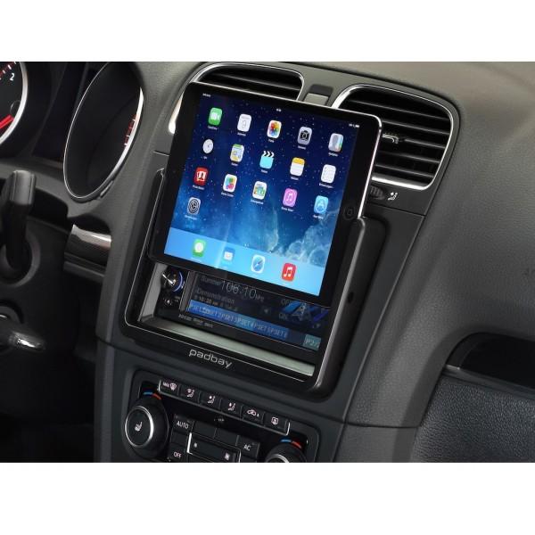 Padbay - Kit double din avec support iPad