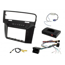 Kit autoradio double din VW Golf 7
