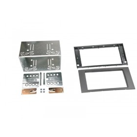 Kit double din Ford Fiesta, Focus, Fusion, Galaxy, Kuga, S-Max et Transit (anthracite)