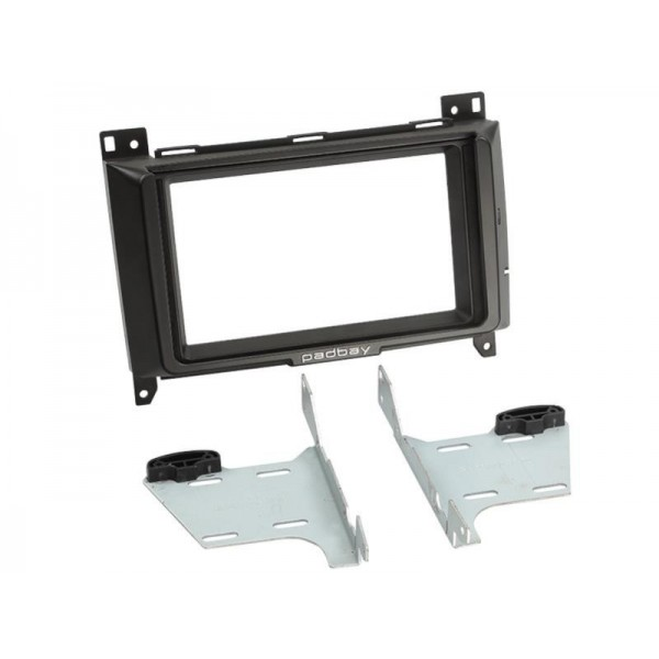 Padbay - Kit 2 din Mercedes A/B avec support iPad