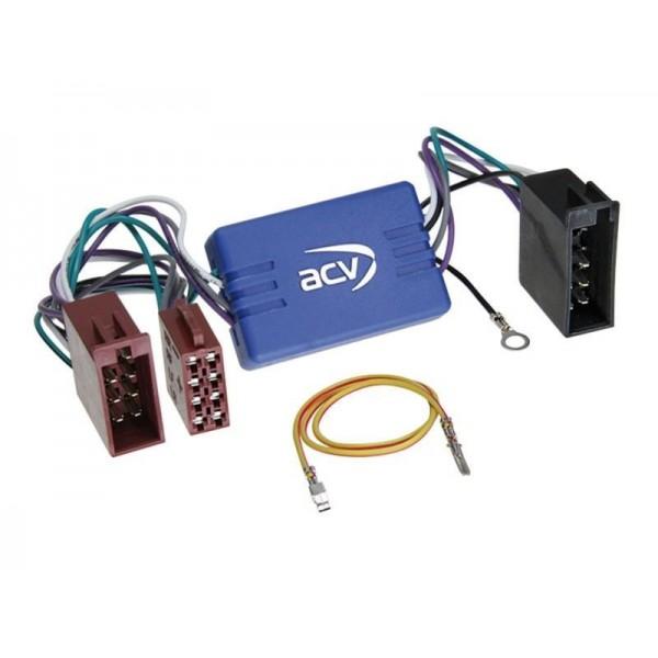 Adaptateur système hifi VW AUDI/SEAT/SKODA/VW ISO 10 voies