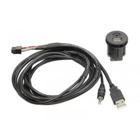 USB/AUX encastrable pour Nissan