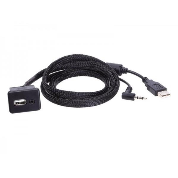 USB/AUX encastrable pour Opel