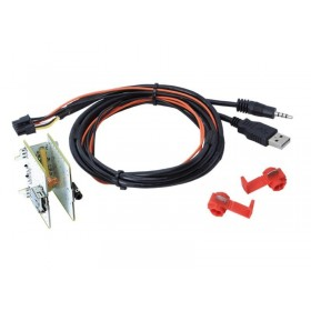 Adaptateur USB/AUX Fiat 500L