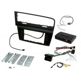 Kit autoradio double din VW Golf 7 (pour chassis court)