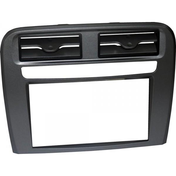 Kit double din pour Fiat Grande Punto (199) noir