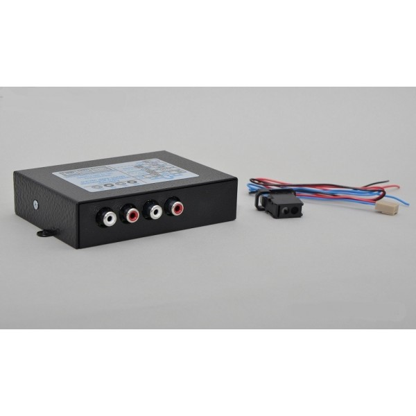 Interface audio fibre optique pour Audi/BMW/Land Rover/Porsche