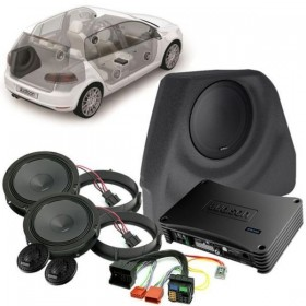 Audison pack audio VW Golf VI APSP G6 (APBX G6 inclus)