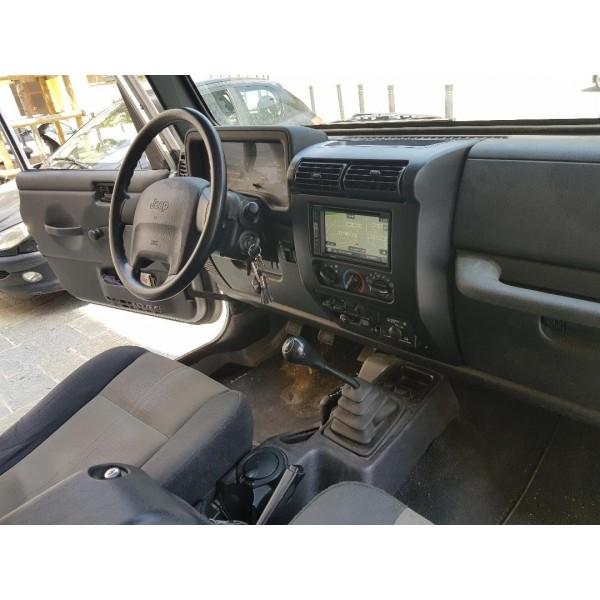 Kit double din Jeep Wrangler avant 2007