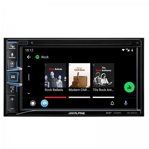 Pack Alpine INE-W611D pour Citroën Jumpy, Toyota Proace et Peugeot Expert, Traveller