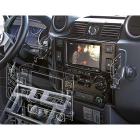 Kit double din Defender