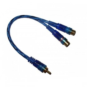Cable Y rca 1M-2F