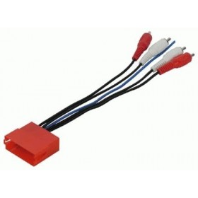 Faisceau adaptateur Mini ISO vers RCA