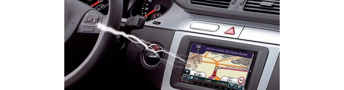 Interface commande au volant Mercedes